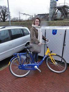 Met-de-ov-fiets-bij-station-Halfweg