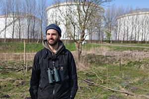 Ecoloog-Daan-op-Ruigoord-Zuid