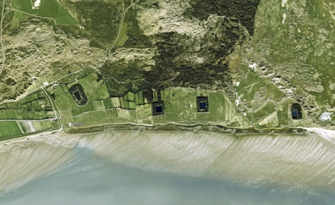 Google-maps--met-de-vier-buitendijkse-kooien-opTerschelling